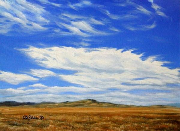 """Wind Dance"" original fine art by Carol Zirkle"