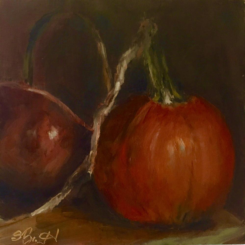 """Fall's Fruit"" original fine art by Sherri Burritt"
