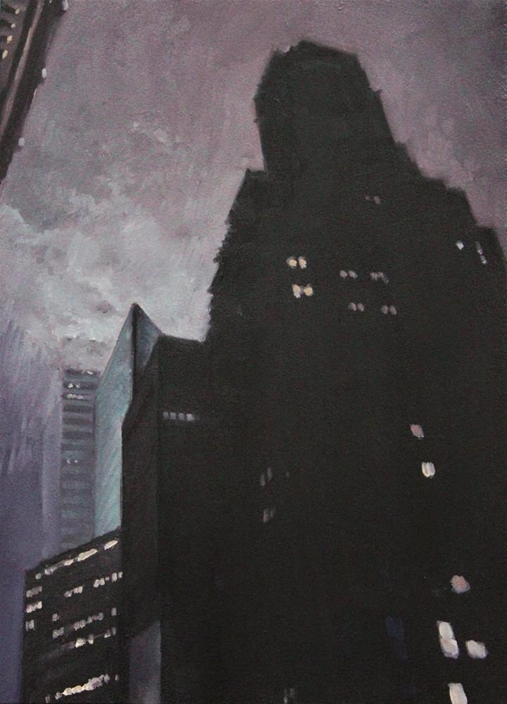 """Midtown Haze"" original fine art by Ski Holm"