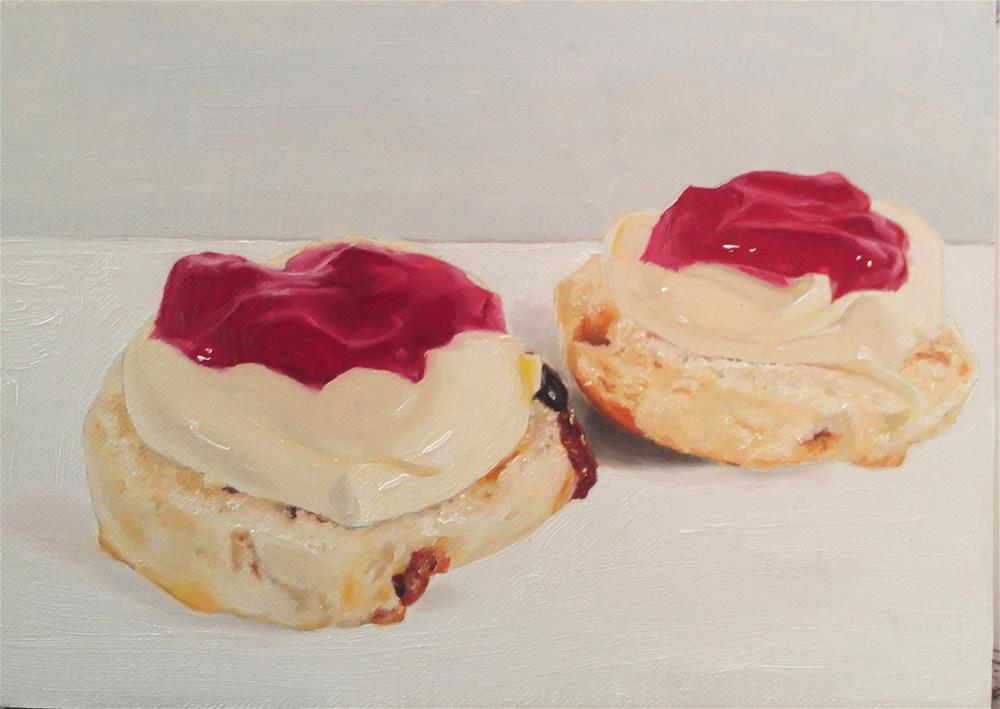 """Scone"" original fine art by James Coates"