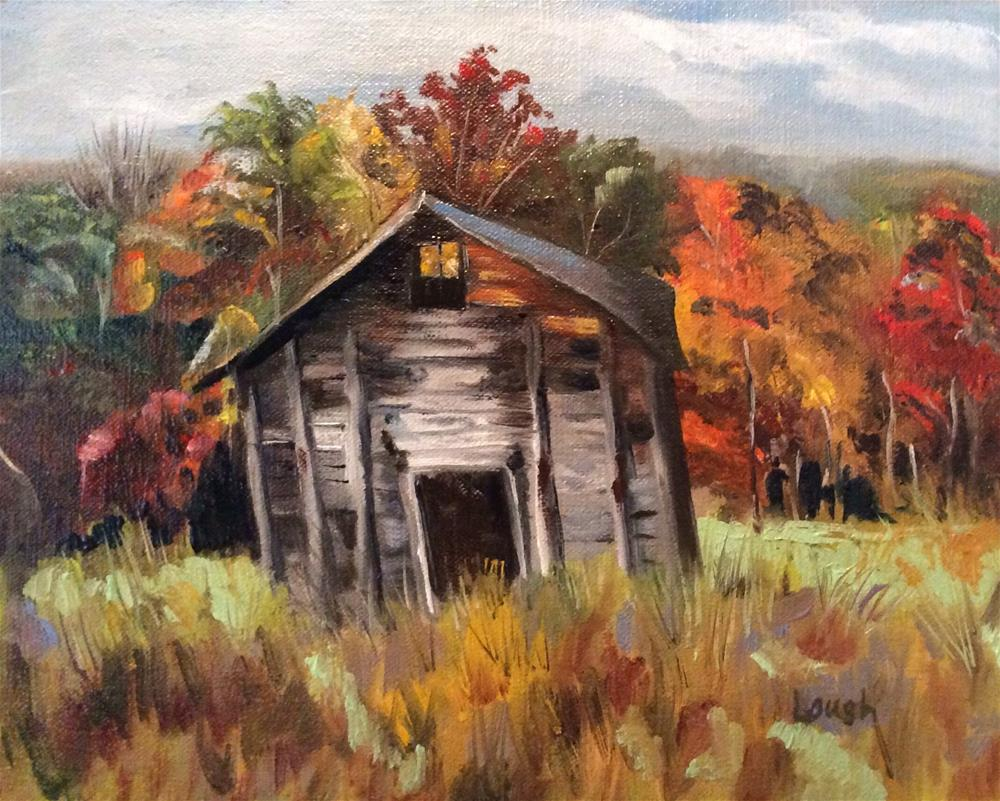 """""""Before the Fall"""" original fine art by Charlotte Lough"""