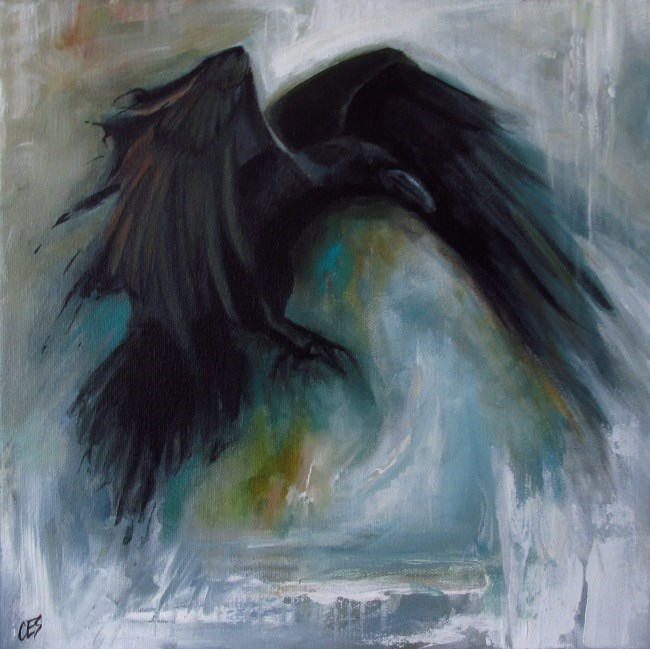 """Of The Wind"" original fine art by ~ces~ Christine E. S. Code"
