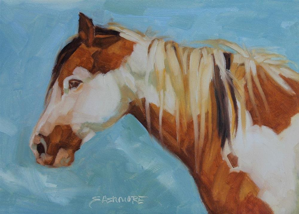 """Majic"" original fine art by Susan Ashmore"