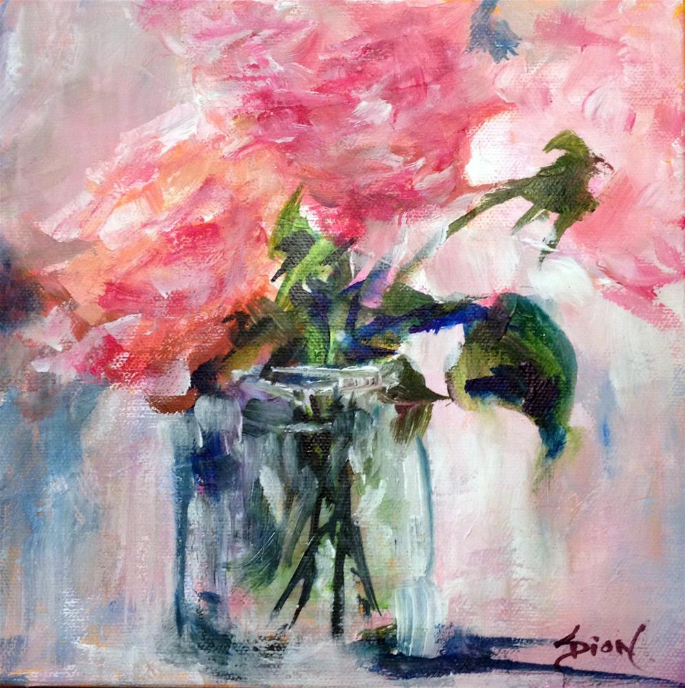 """Roses"" original fine art by Sue Dion"