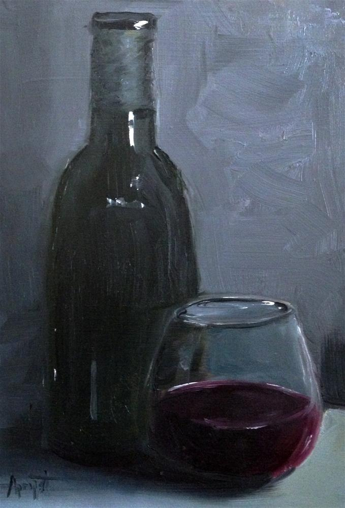 """Chianti"" original fine art by Anne Marie Propst"