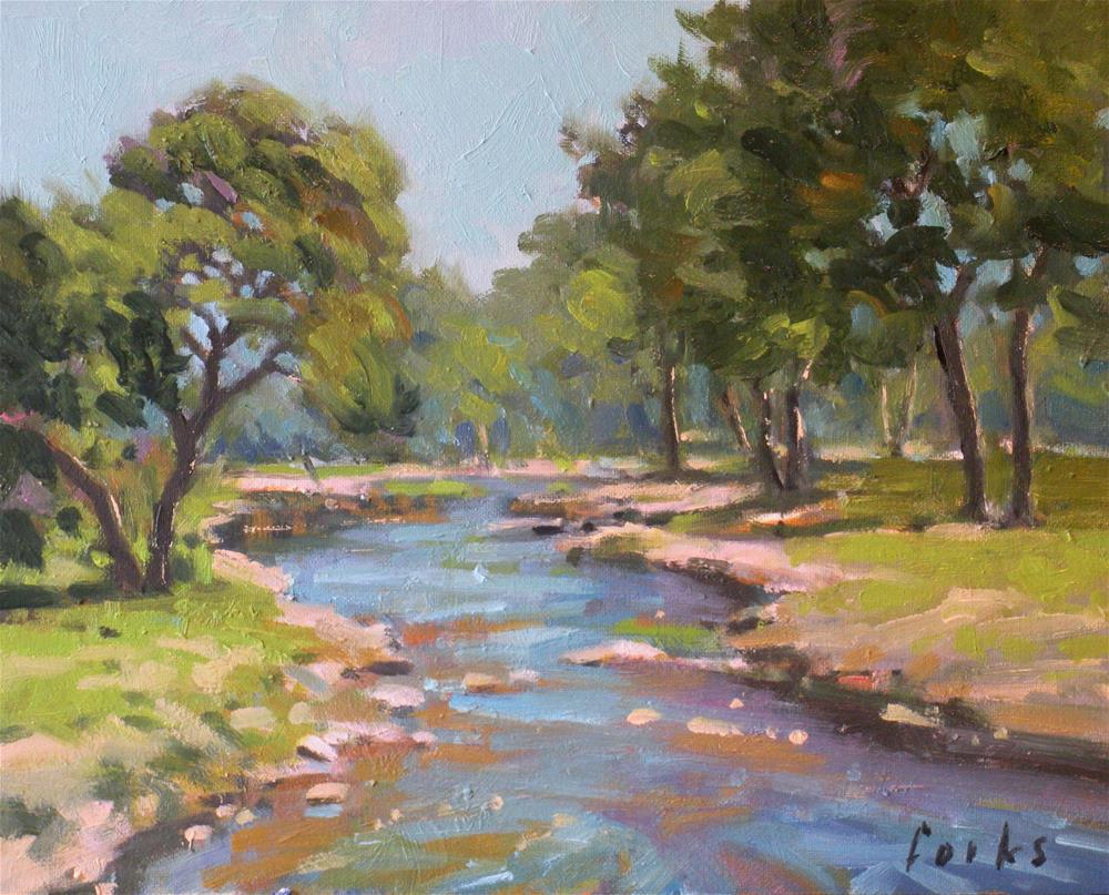 """Little Creek"" original fine art by David Forks"
