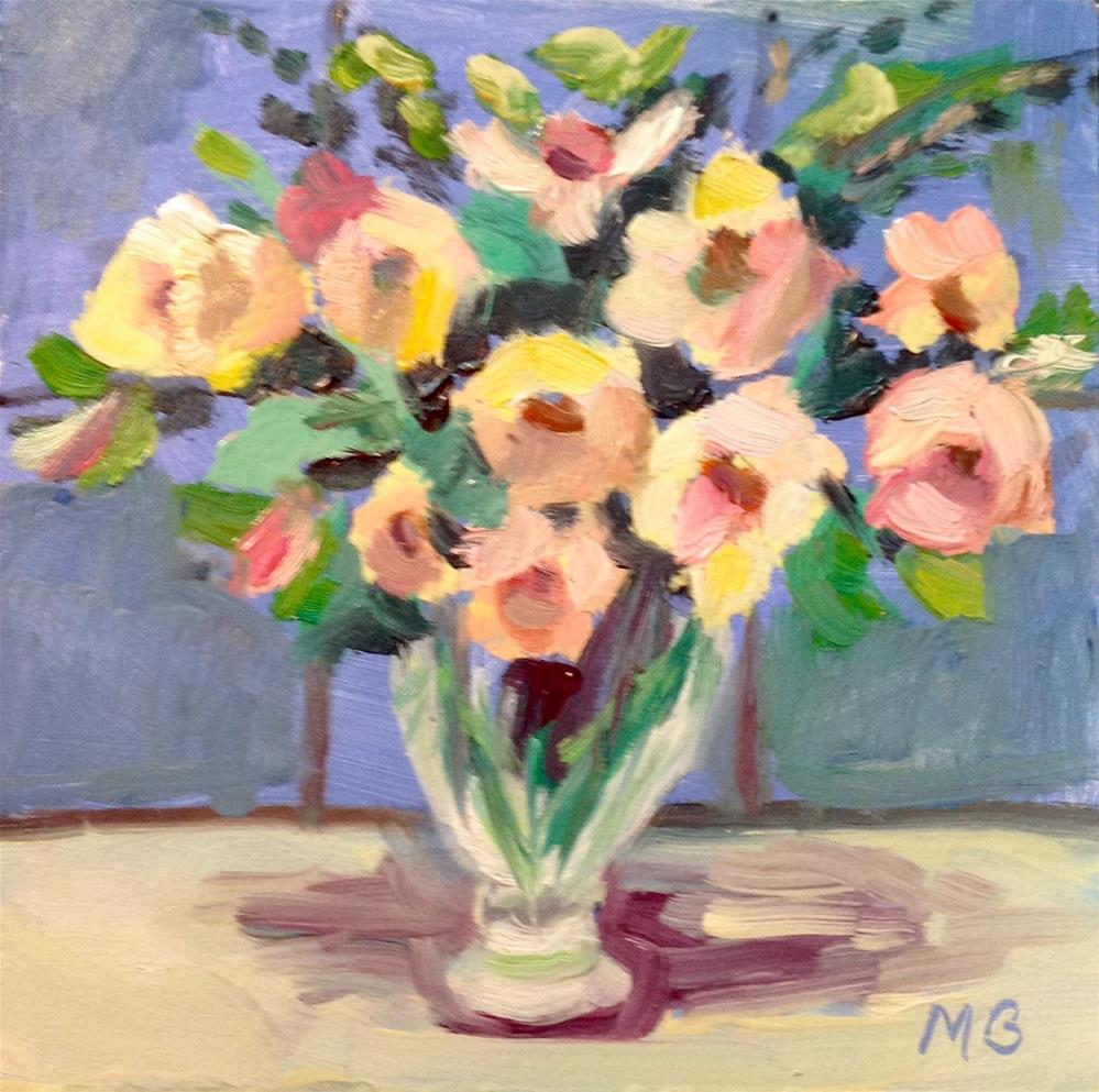 """Martha Would Be Proud"" original fine art by Marcia Bergtholdt"