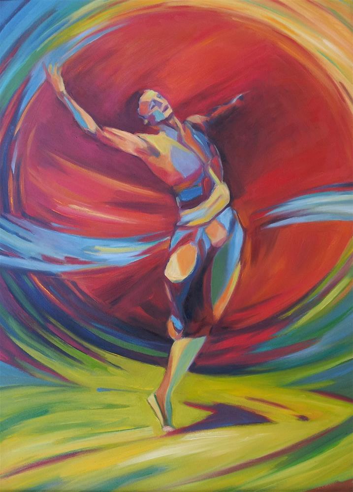 """""""The rite of spring"""" original fine art by Olga Touboltseva-Lefort"""
