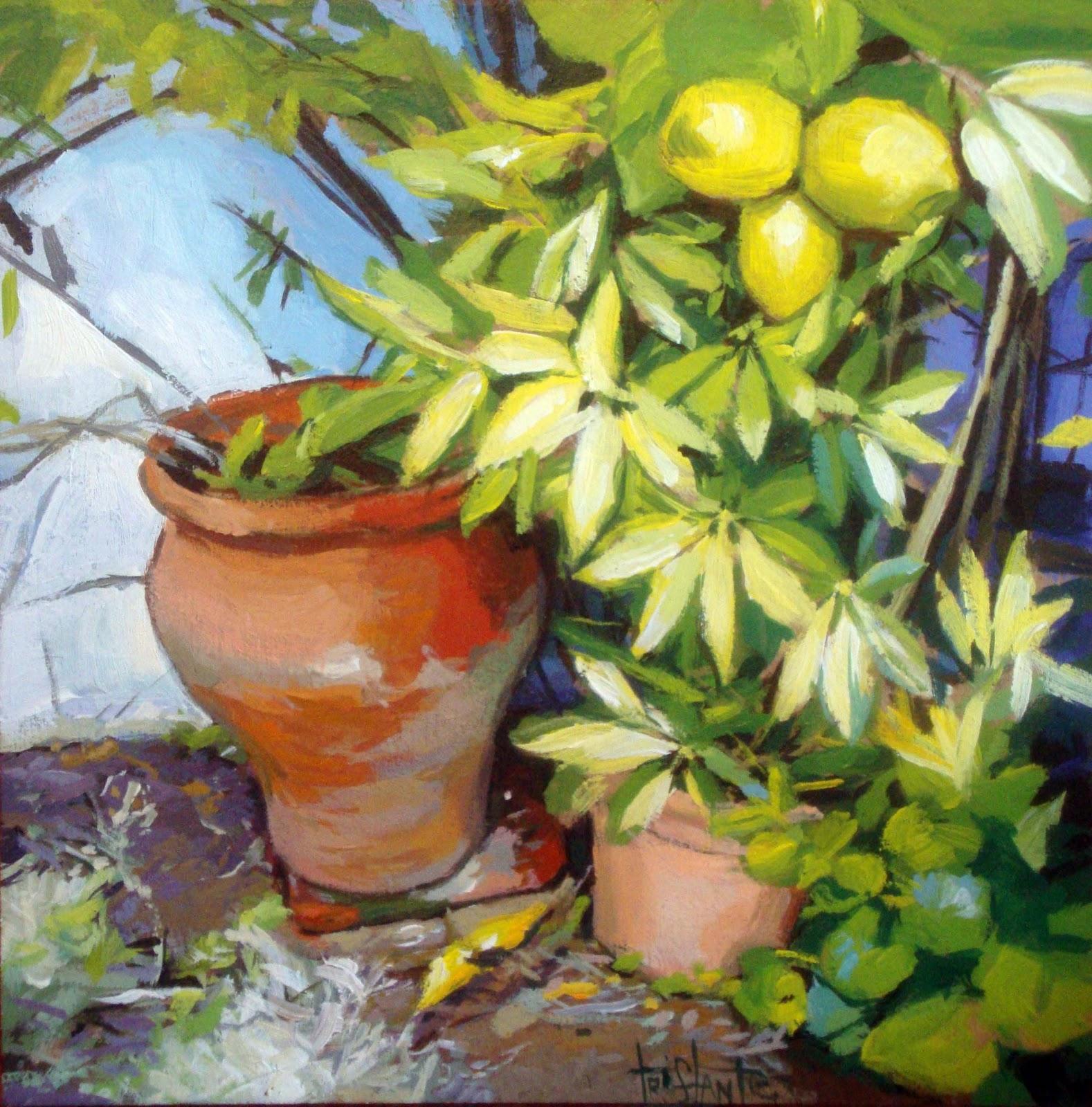 """Lemon Tree"" original fine art by Víctor Tristante"