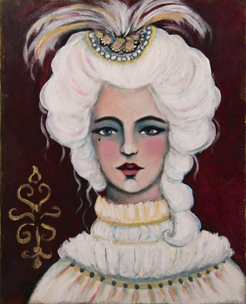 """""""Maria Amalia"""" original fine art by Roberta Schmidt"""