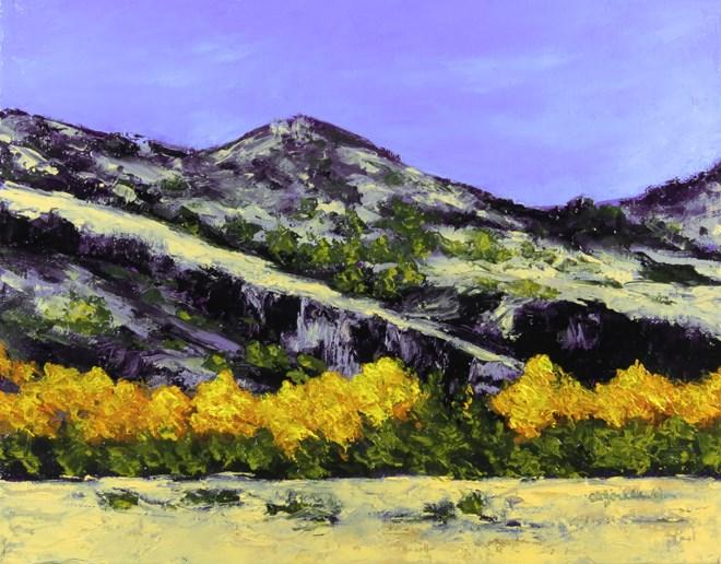 """Rough and Beautiful"" original fine art by Carol Zirkle"