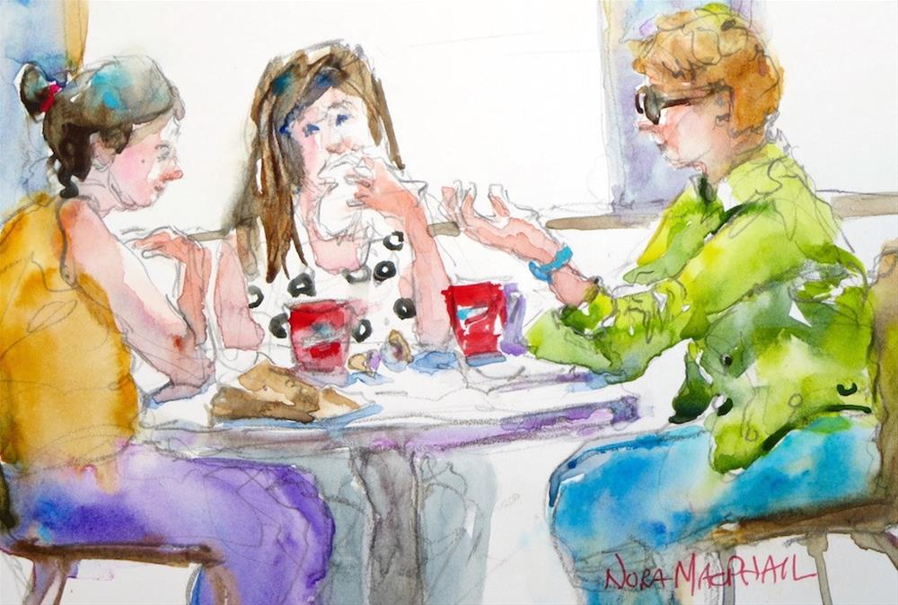 """""""funny story"""" original fine art by Nora MacPhail"""