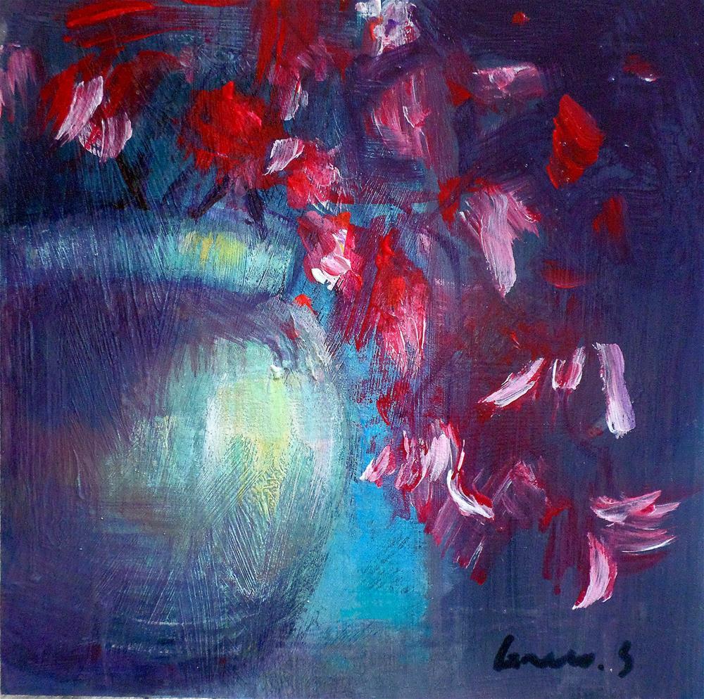"""""""Magnolia"""" original fine art by salvatore greco"""