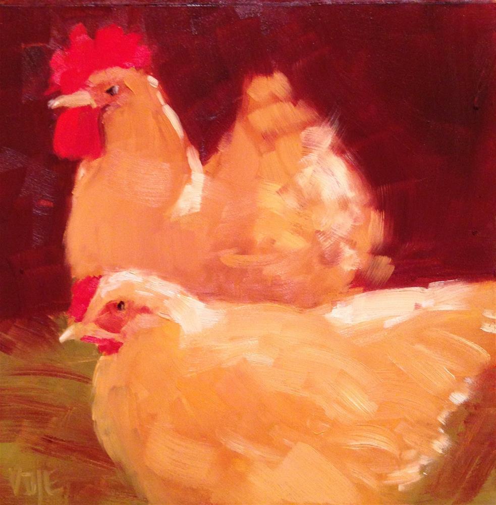 """#45 Date Night"" original fine art by Patty Voje"