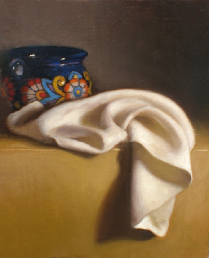 """Cloth Study"" original fine art by Debra Becks Cooper"