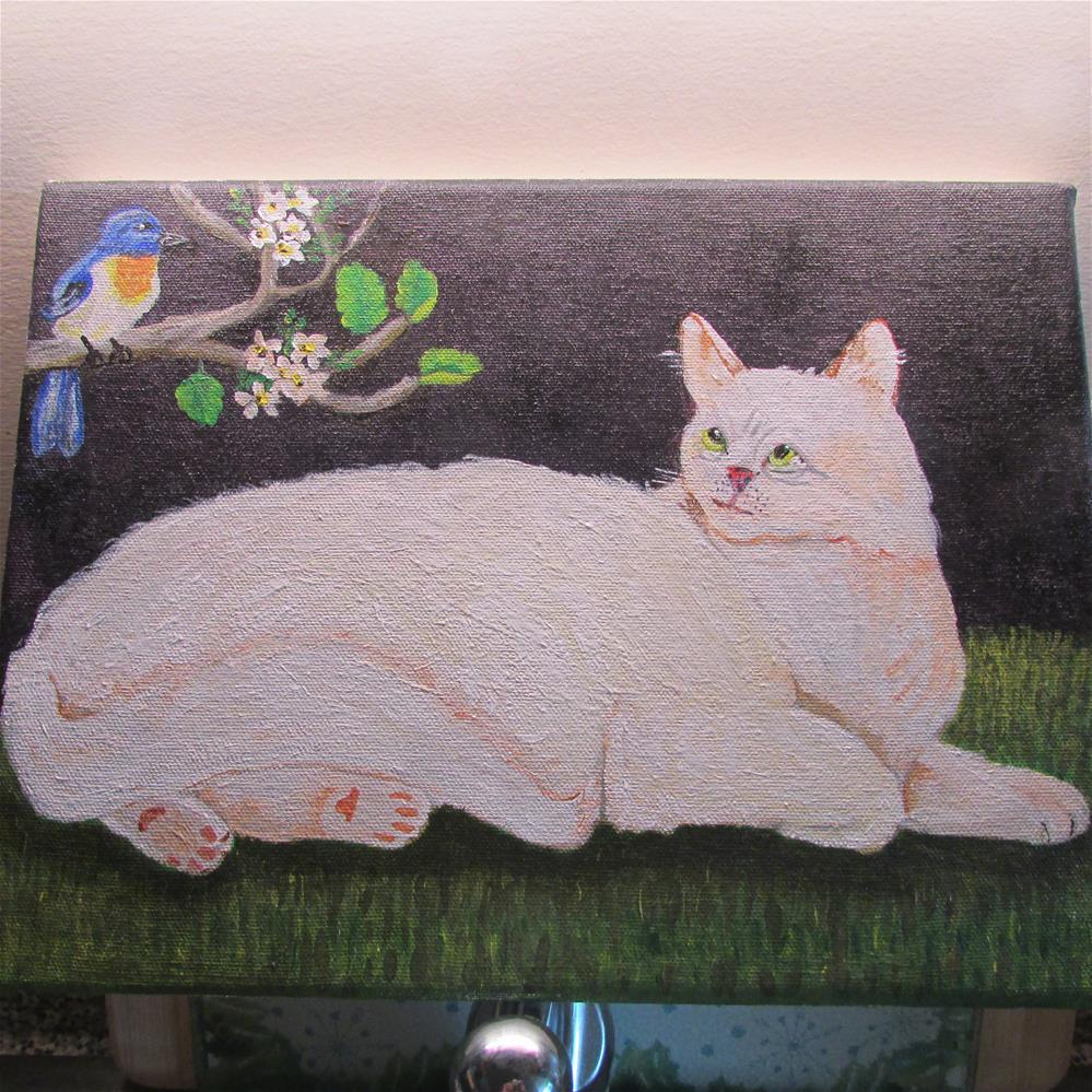 """Butch"" original fine art by Rachel Leonardo"