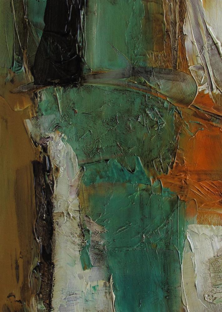 """ACEO Original Oil Painting Art A CINDERELLA STORY"" original fine art by Colette Davis"