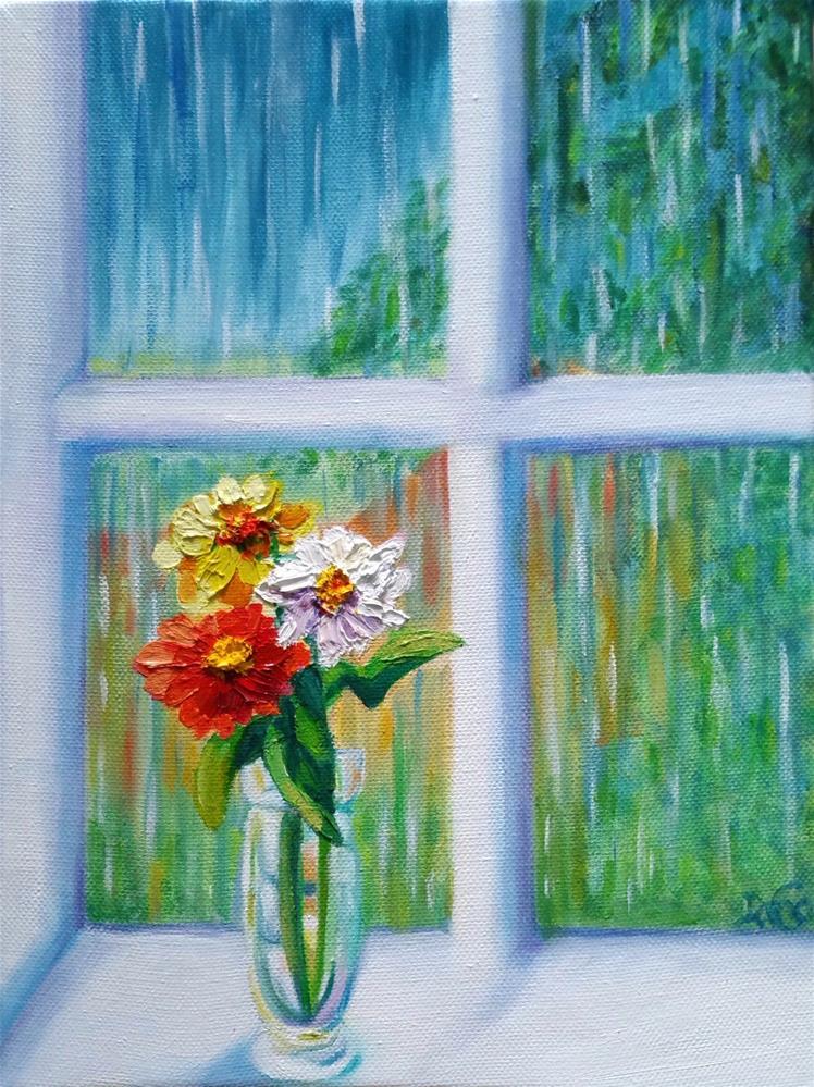 """A Bit of SunShine"" original fine art by Dana C"