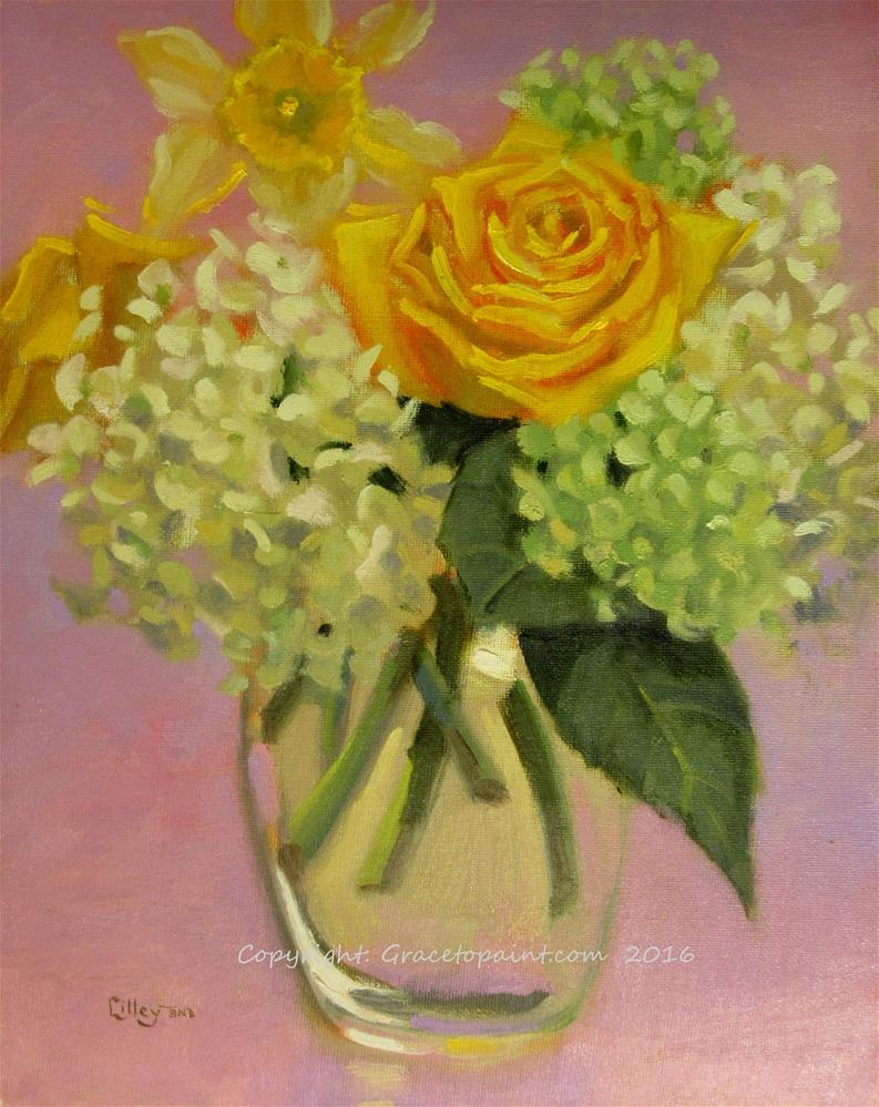 """Spring Bouquet"" original fine art by Maresa Lilley"