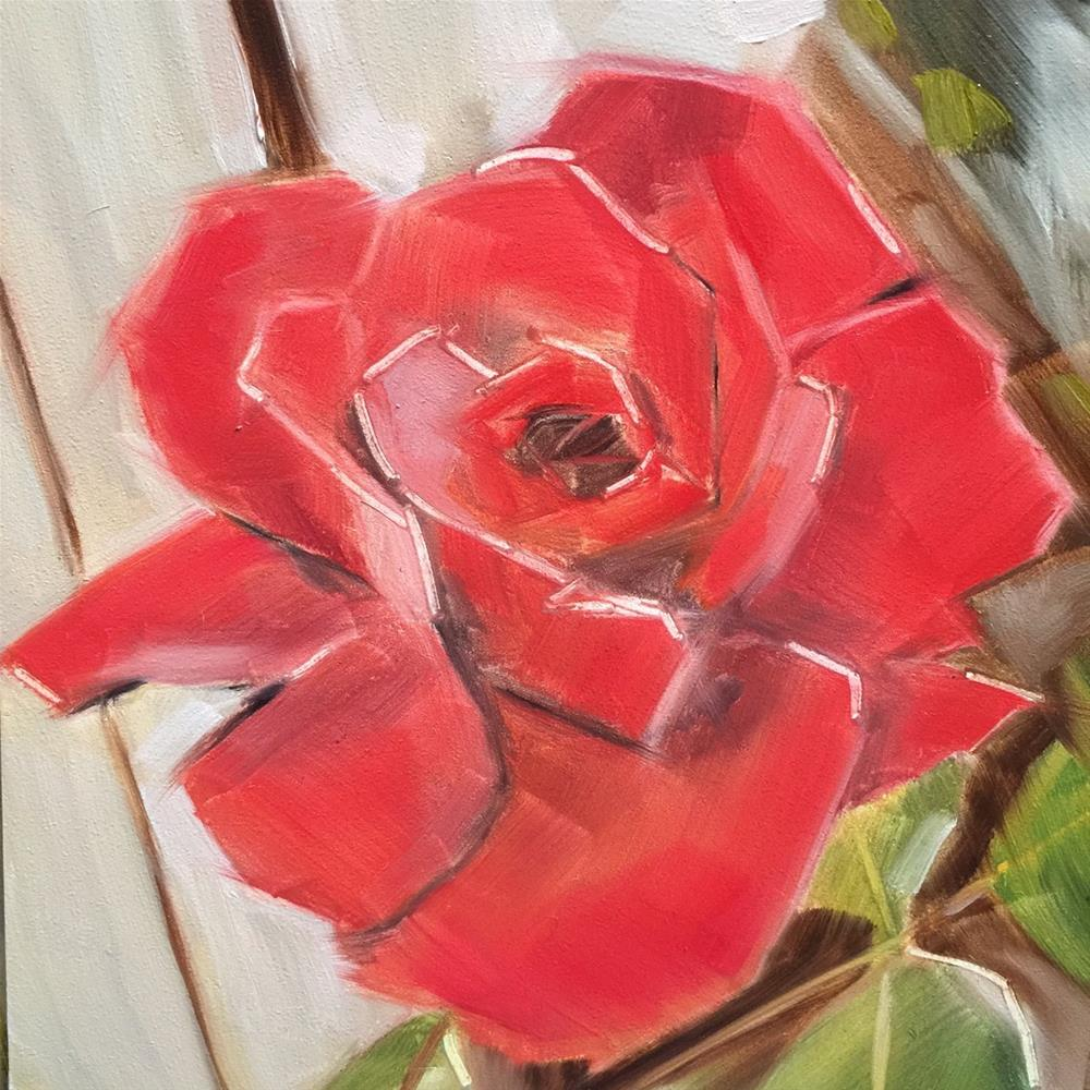 """450 Petal by Petal"" original fine art by Jenny Doh"
