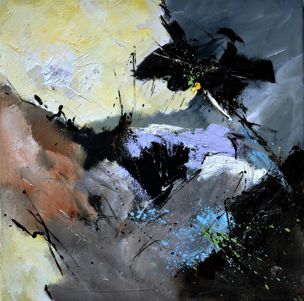 """abstract 5566512"" original fine art by Pol Ledent"