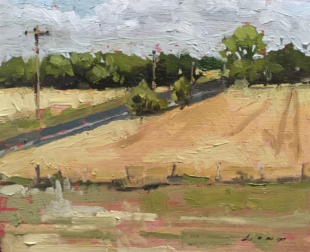"""Kansas"" original fine art by Chris Long"