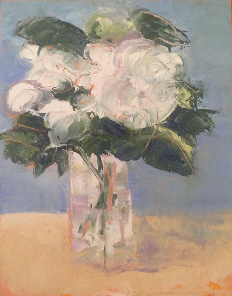 """Floribundas"" original fine art by Karen Pinard"
