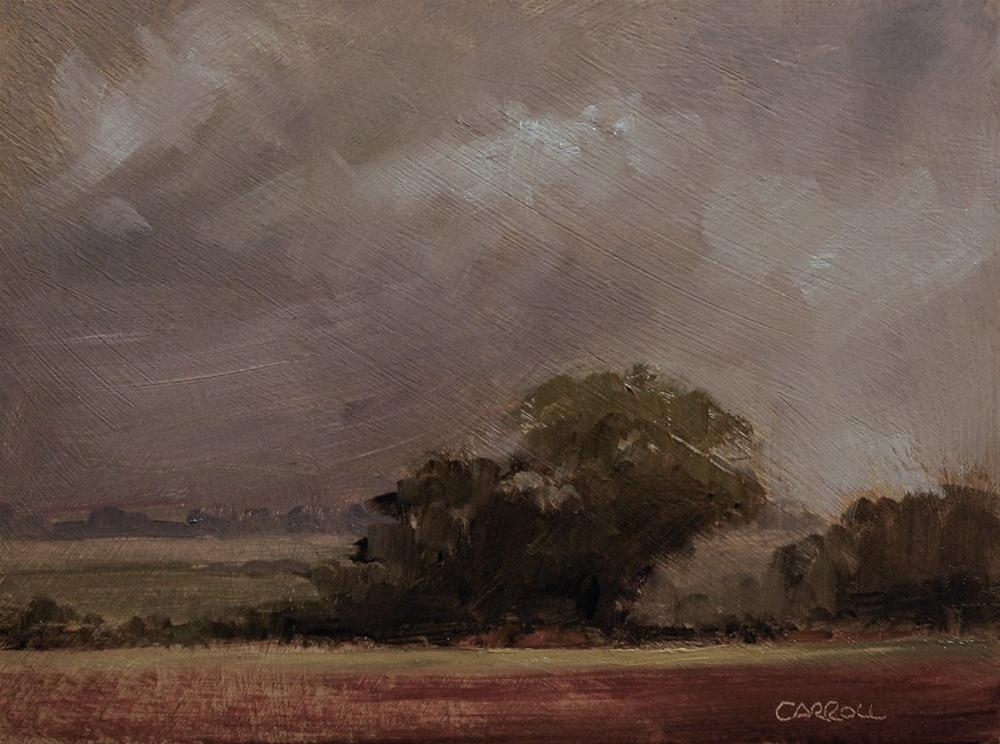 """Landscape Study #2"" original fine art by Neil Carroll"