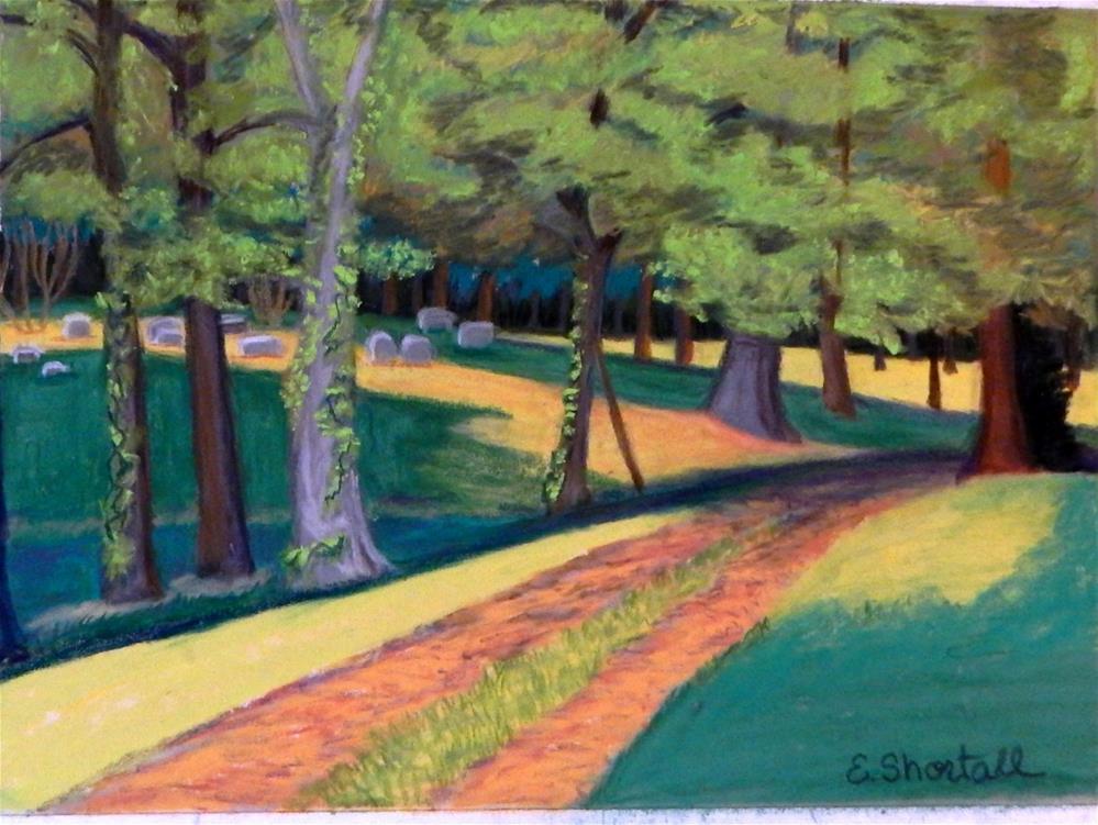 """A Peaceful Place "" original fine art by Elaine Shortall"