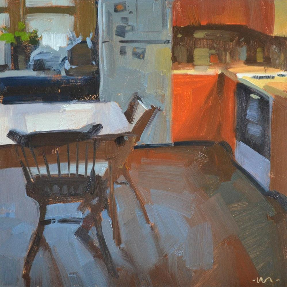 """Cozy Kitchen"" original fine art by Carol Marine"