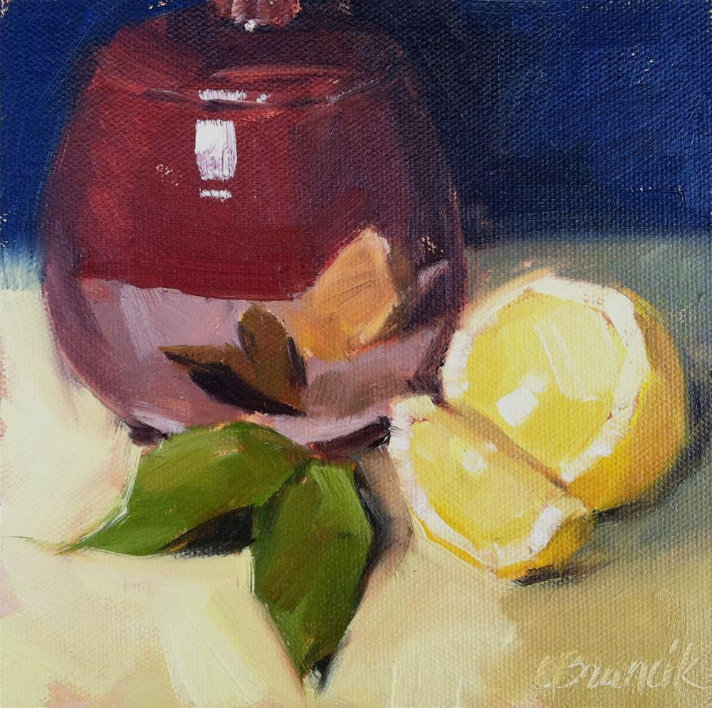 """Sugar Bowl"" original fine art by Candace Brancik"