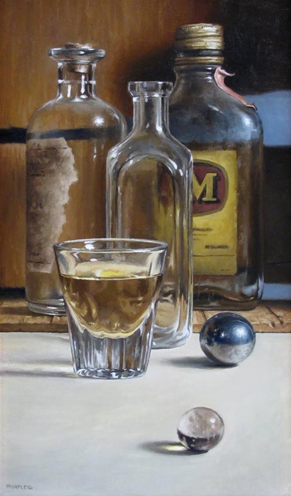 """""""Antique Collection"""" original fine art by Michael Naples"""