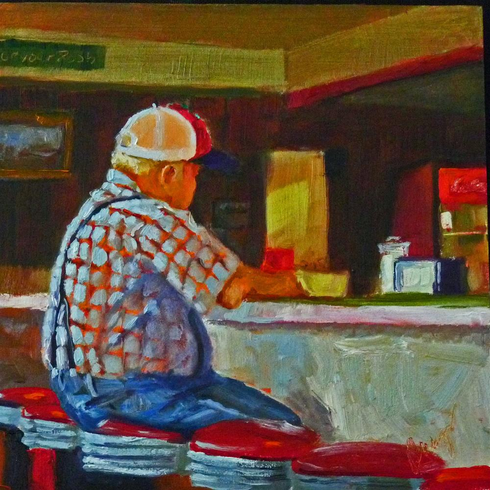 """Coke With That?"" original fine art by Sharman Owings"