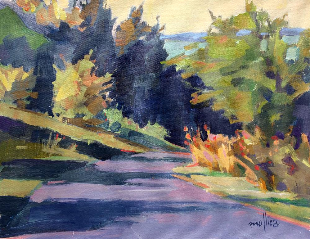 """Green Lakes Park"" original fine art by Patti Mollica"