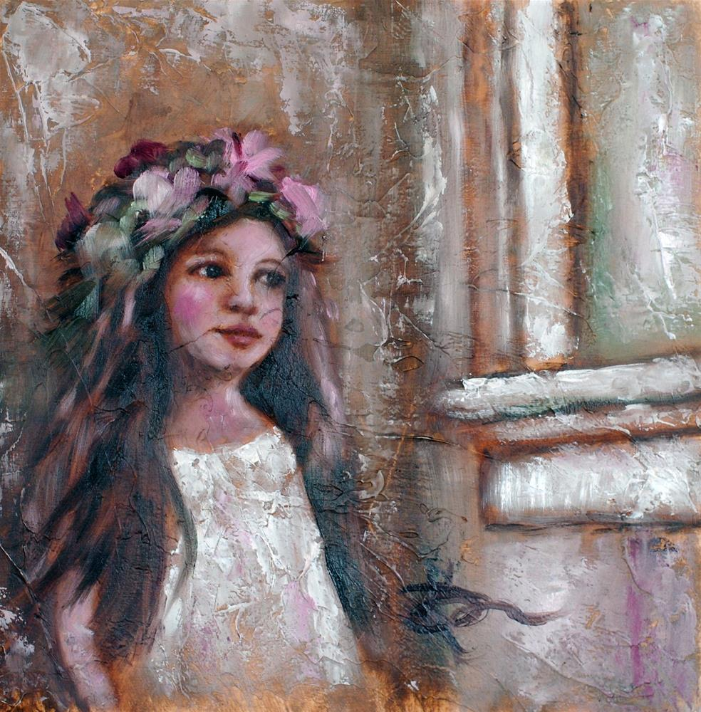 """Daydreamer"" original fine art by Kelly Berkey"