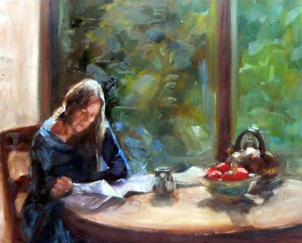 """Morning Break"" original fine art by Cietha Wilson"
