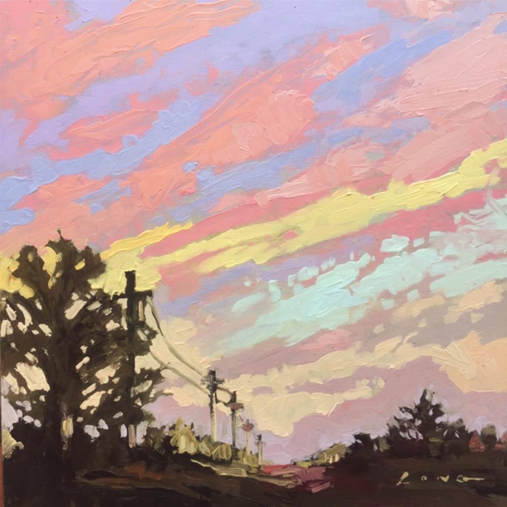 """""""Astoria, Oregon"""" original fine art by Chris Long"""