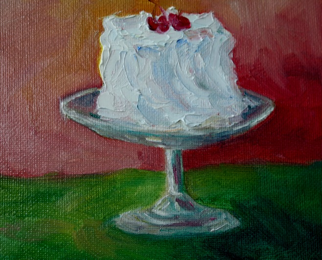 """Happy Birthday!"" original fine art by Maggie Flatley"