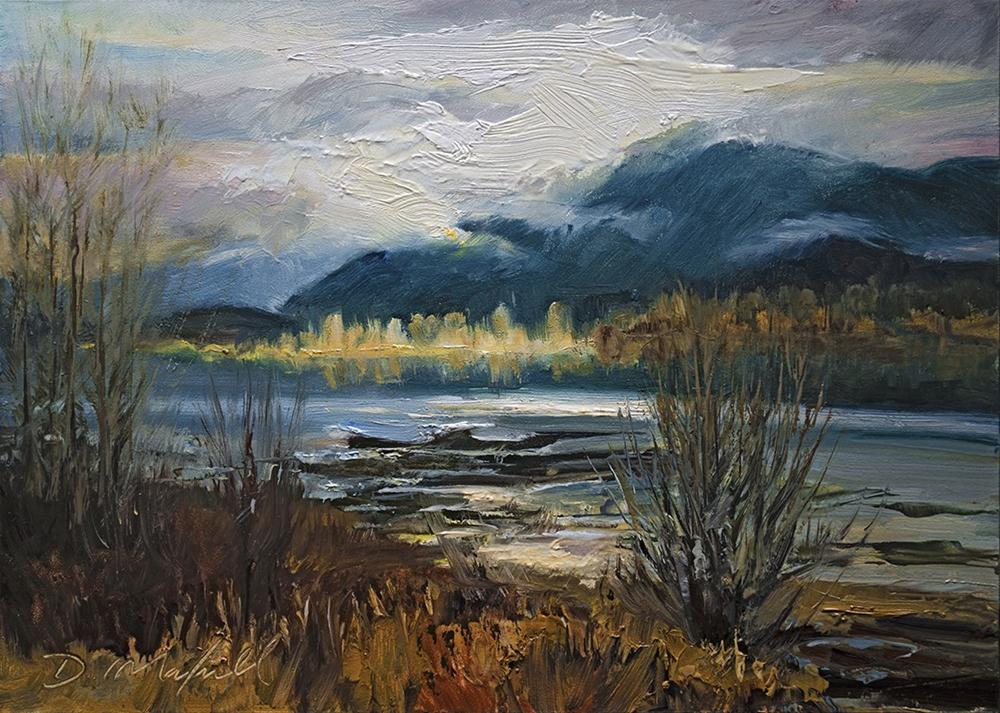 """After the Storm"" original fine art by Denise Maxwell"