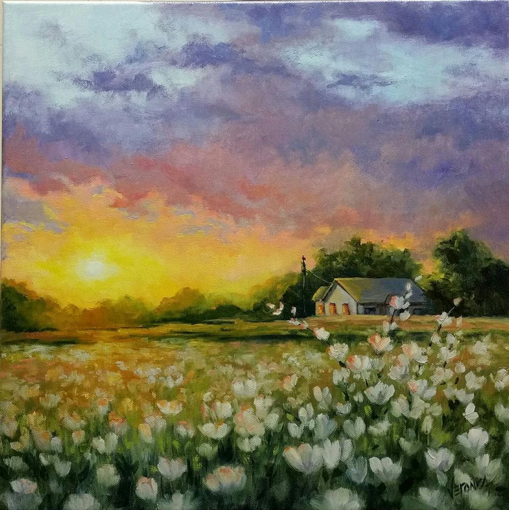 """After the Rain #2"" original fine art by Veronica Brown"