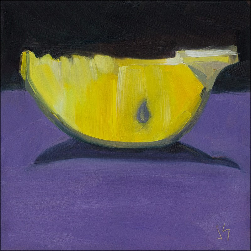 """30in30 – L 4 Lemon Joy"" original fine art by Johnna Schelling"