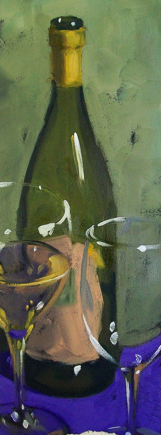 """wino 6"" original fine art by Brandi Bowman"