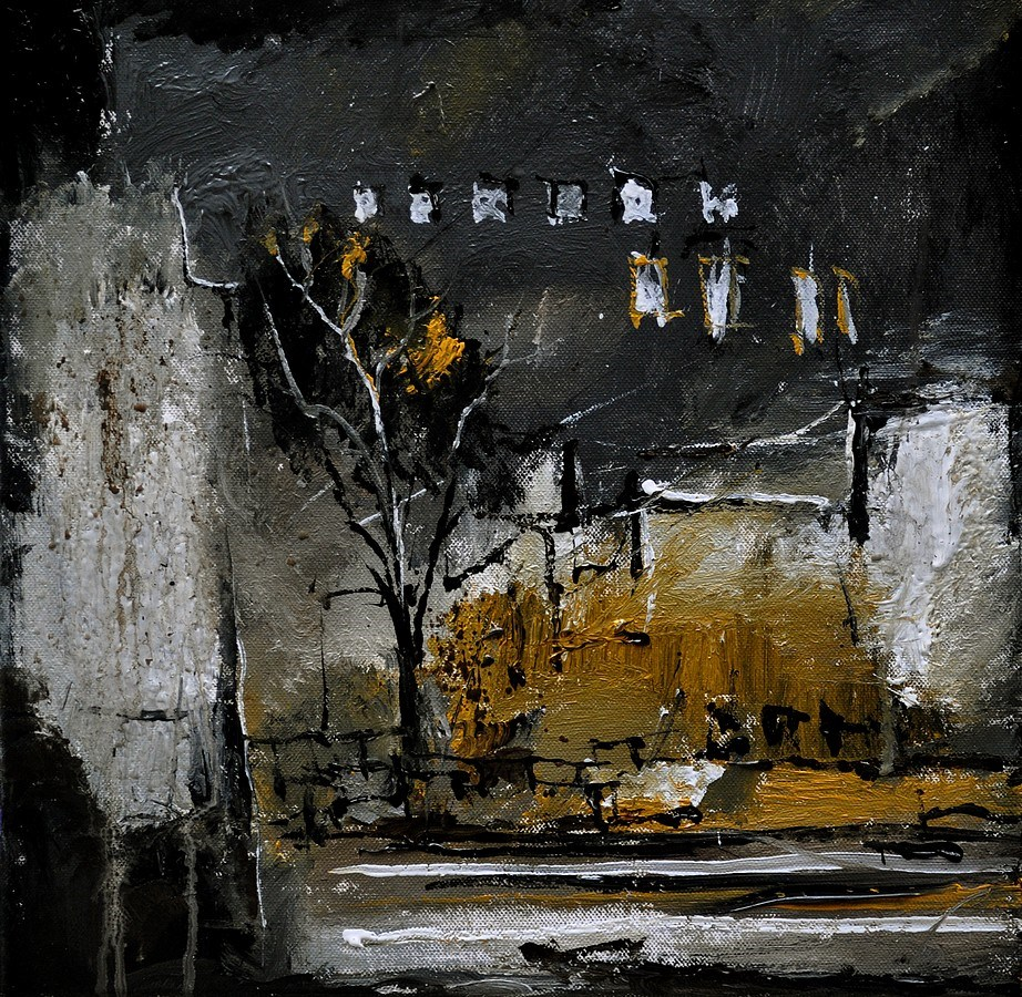"""Urban memory"" original fine art by Pol Ledent"