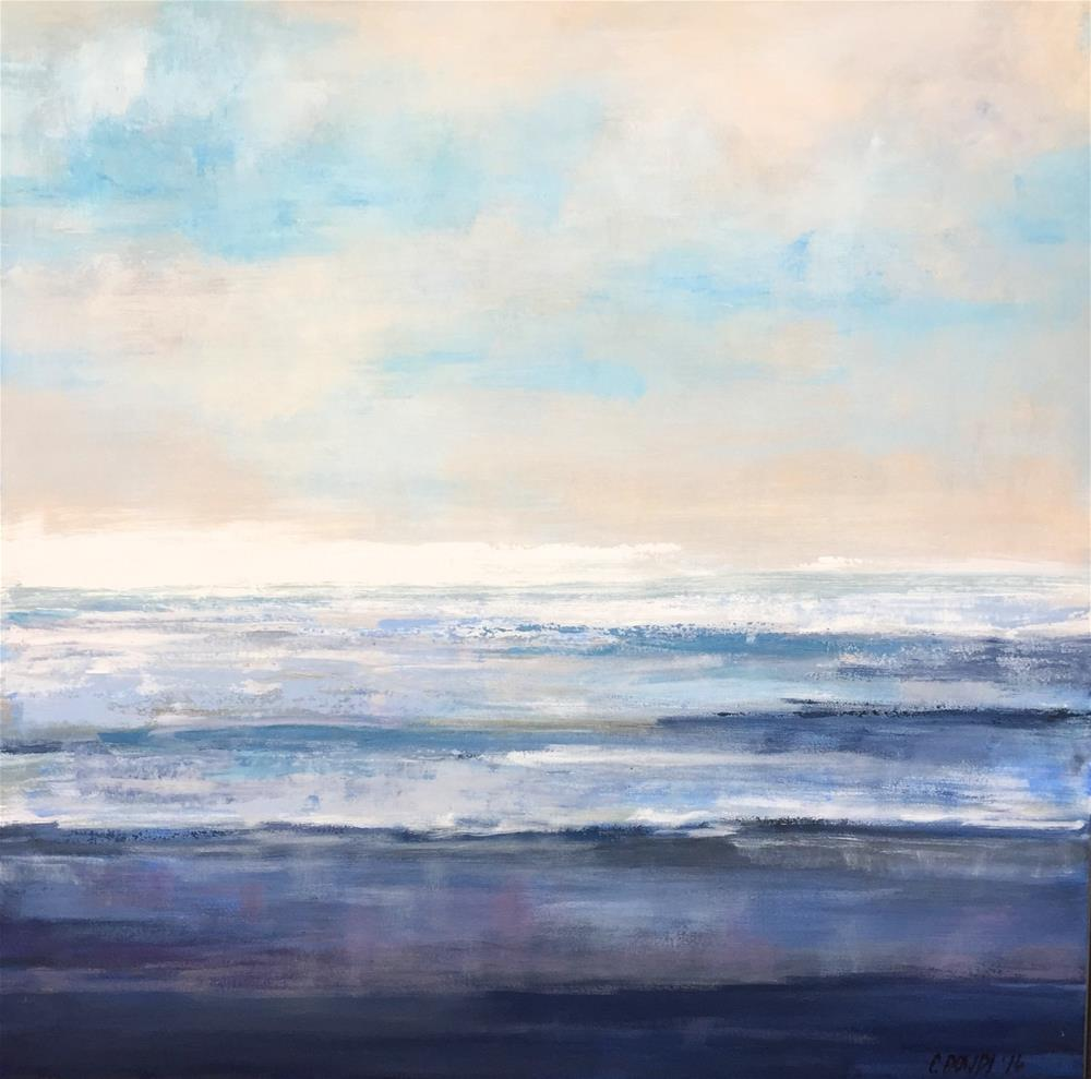 """Summer Reflections II"" original fine art by Christina Dowdy"