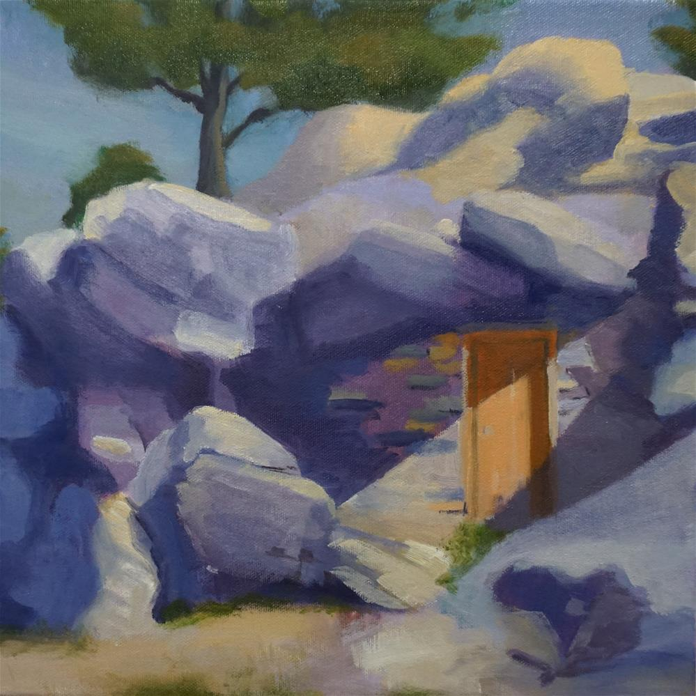 """Hobbit Hole"" original fine art by Catherine Van Berg"