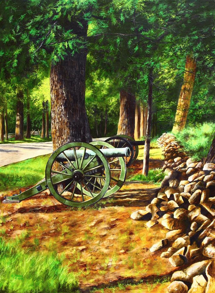 """Confederate Avenue"" original fine art by Aaron Grabiak"