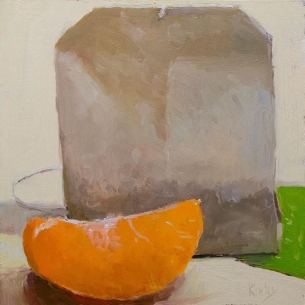 """Mandarin and Tea"" original fine art by Randall Cogburn"