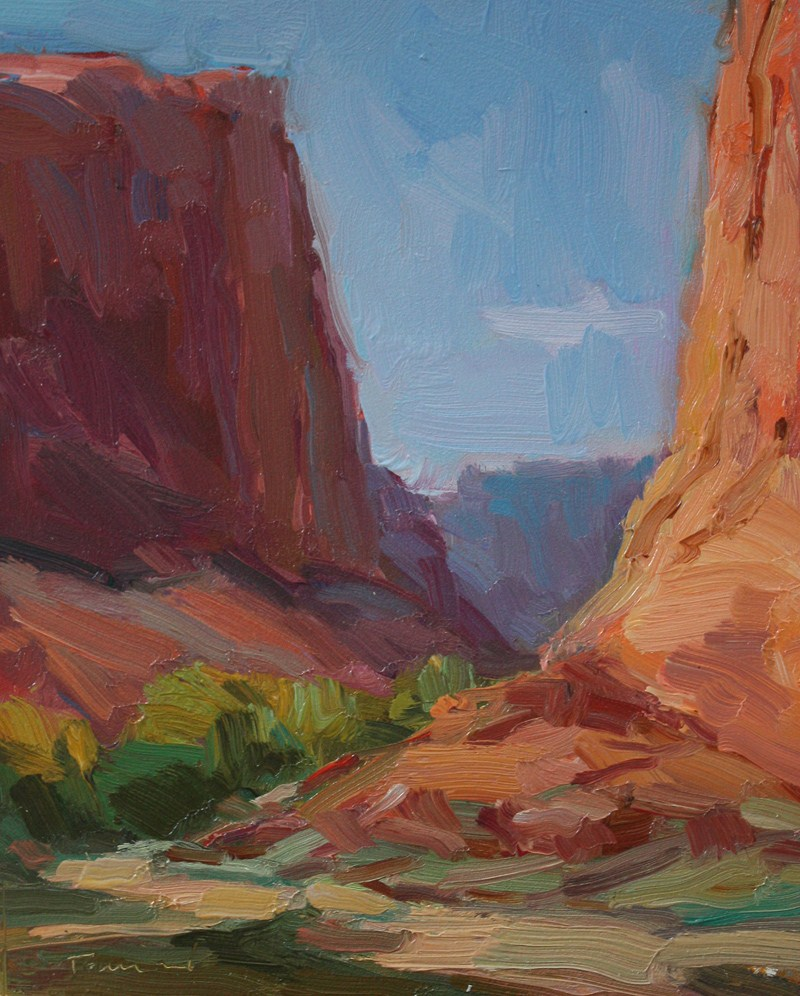 """Canyon de Chelly Sketch 3"" original fine art by Kathryn Townsend"