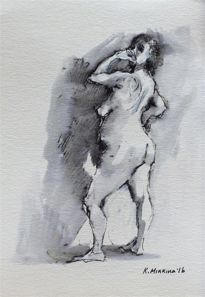 """sketchbook#17"" original fine art by Katya Minkina"