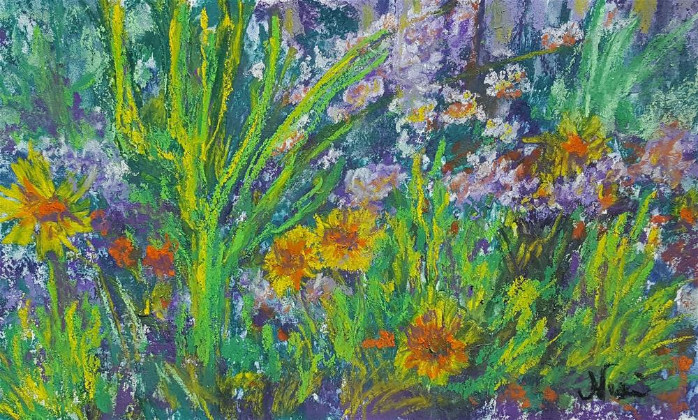 """Gayle's Garden"" original fine art by Niki Hilsabeck"